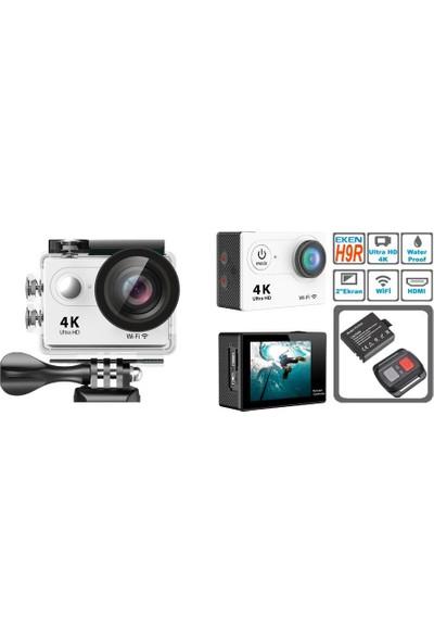 Eken H9R Kumandalı 4K Ultra HD Aksiyon Kamera