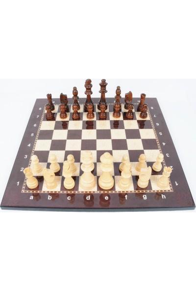 50bir Lüks Satranç Takımı Ahşap Figür (2 Numara)