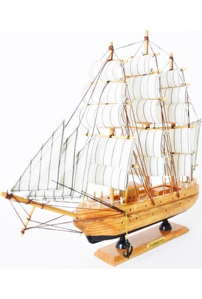 50bir Yelkenli Ahşap Gemi Marketi (40406)