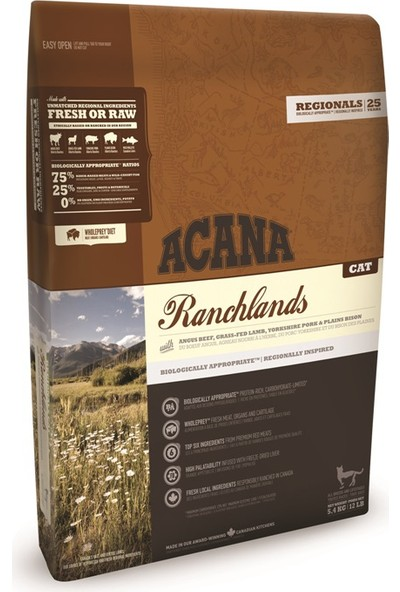 Acana Ranchlands Kedi Maması 5,4 kg