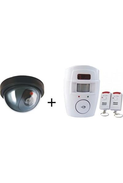 Lorex Hırsız Savar Set 2 ( LR-SK04 Caydırıcı Dome Kamera + LR-NG300 Kablosuz Hırsız Alarm Sistemi)- LR-HSET2