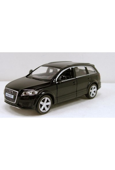 Rmz City Audi Q7 V12 Metal Araba Die-Cast 1:40 Ölçekli Çek Bırak