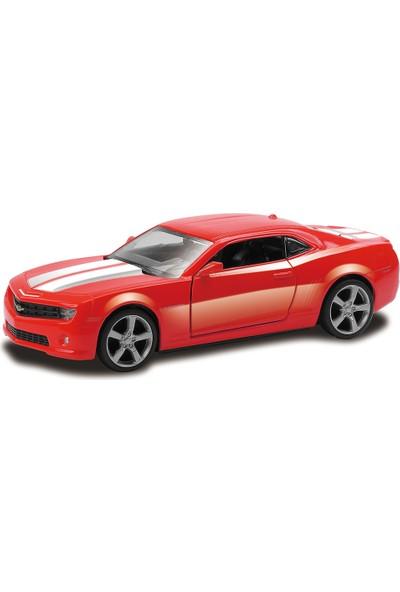 Rmz City Chevrolet Camoro Metal Araba Die Cast 1:32 Çek Bırak