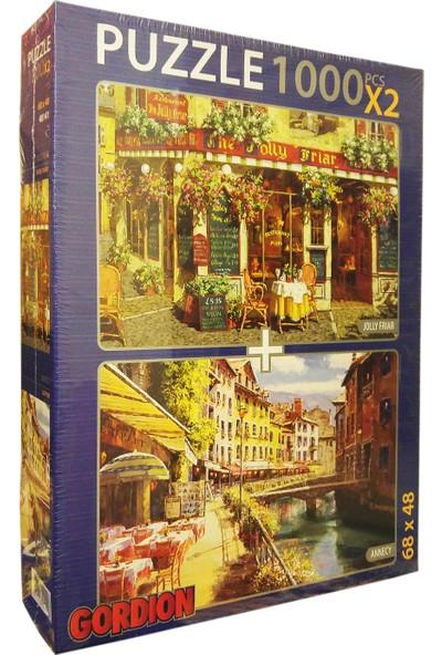 Gordion Games Jolly Firar - Annecy 2 x 1000 Parça Puzzle