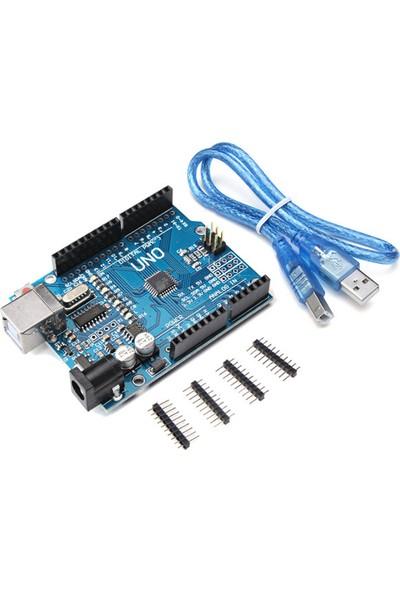China Arduino Uno R3 + Usb Kablo Hediyeli