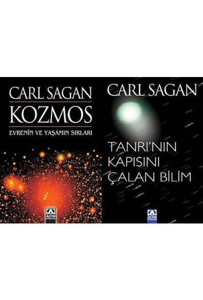 Carl Sagan Seti (2 Kitap Takım) - Carl Sagan