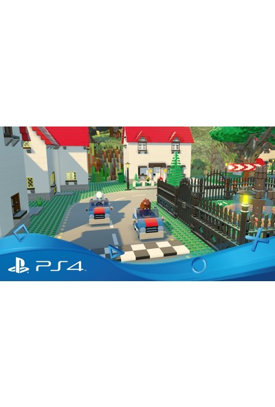 Lego Worlds PS4 Oyun