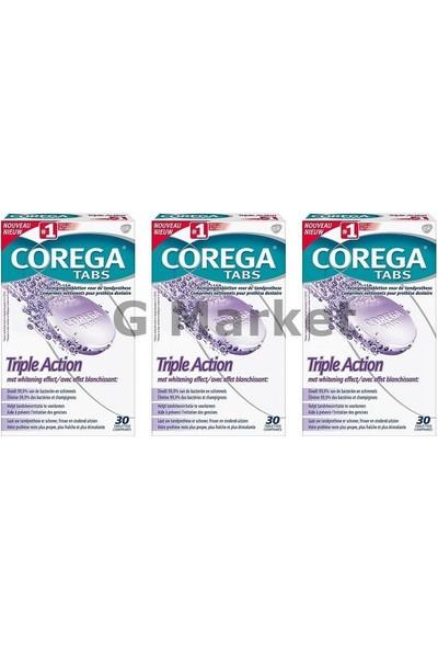 Corega 3 Etkili Tablet 30 Lu 3 Adet