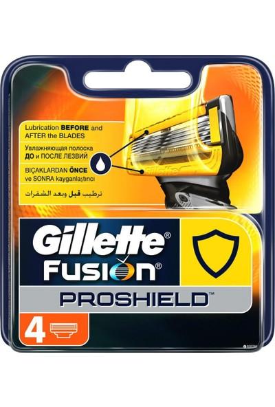 Gillette Fusion Proshield 4' Lü Yedek