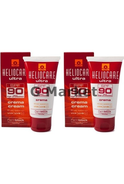 Heliocare Spf 90 Cream (Krem) 50 Ml 2 Adet