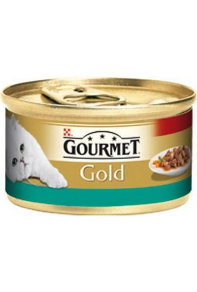 Gourmet Purina Gold Somonlu Ve Tavuklu 85 G Yaş Mama