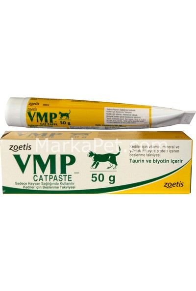 Vmp Cat Paste Vitamin, Mineral Ve Protein Macun 50 Gr