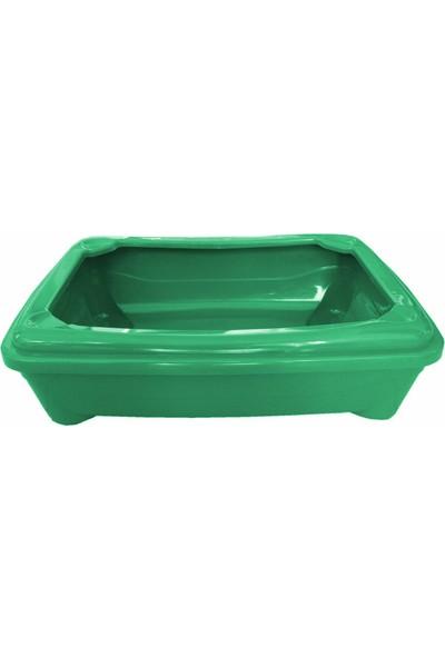Patimax Kedi Tuvalet Kabı Yeşil 12*37*50 Cm