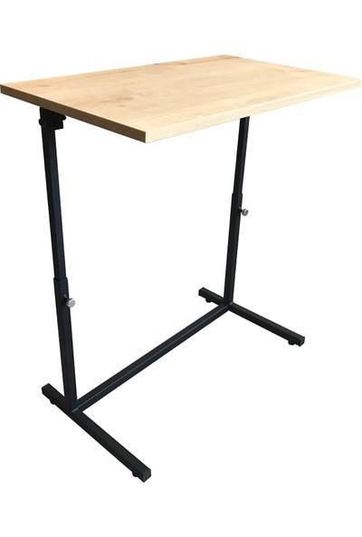 İrem Laptop Masası Ve Sehpası Tekerlekli (Yükseklik Ve Eğim Ayarlı)