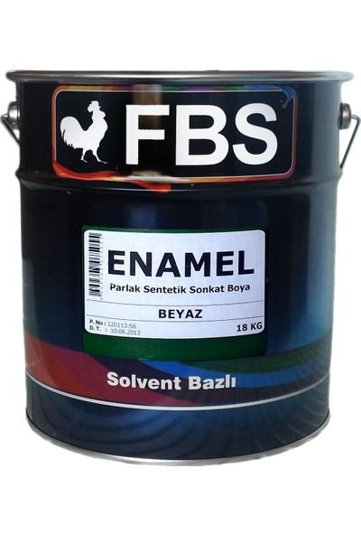 Fbs Enamel Sentetik Yağlı Boya 18 Kg Siyah