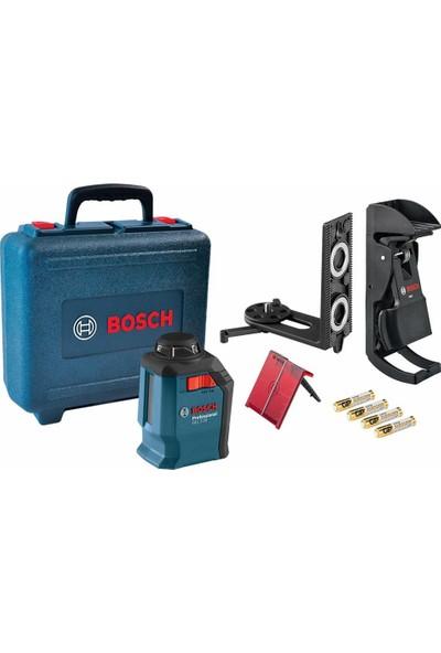 Bosch Gll 2-20 +Bm 3 Çizgi Lazer Seti Çantalı