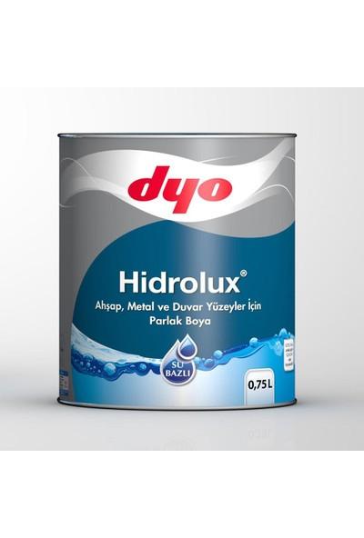 Dyo Hidrolüx 0,75 Litre Beyaz Su Bazlı Ahşap Metal Boyası