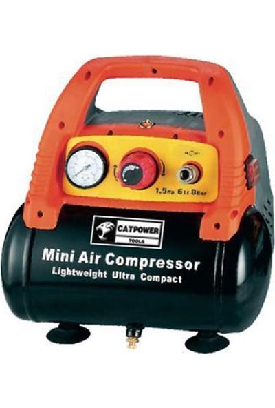 Cat Power 1106 6 Litre Yağsız Hava Kompresörü