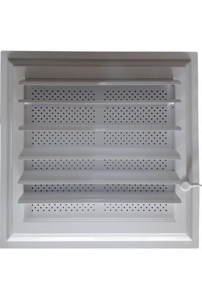 Plastik Menfez 35X45 Yapışkan Bantlı Beyaz