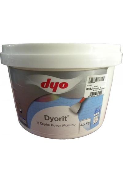 Dyorit İç Cephe Macunu 4,5 Kg Beyaz