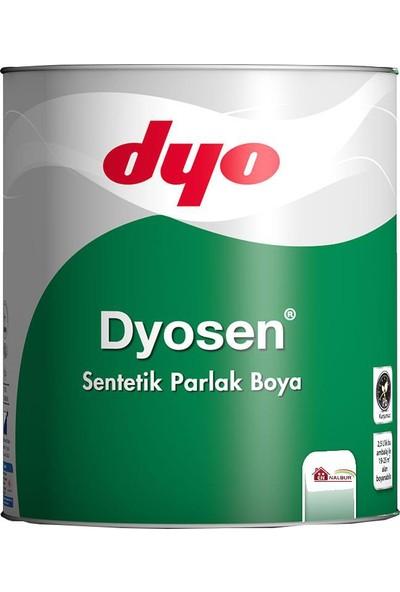 Dyosen Sentetik Parlak Boya 0,75 Lt Beyaz