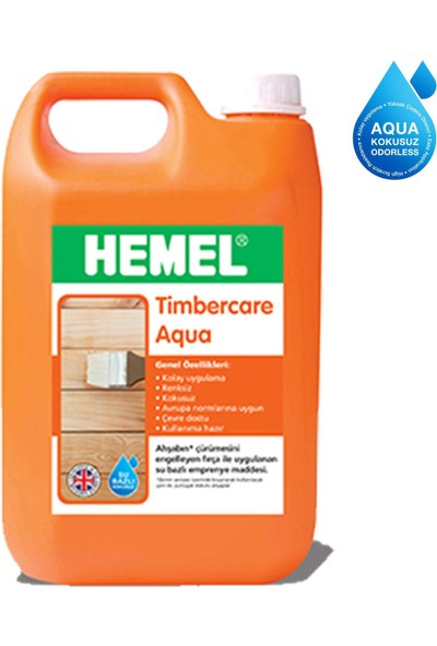 Hemel Timbercare Aqua Emprenye 20 Litre Şeffaf