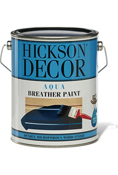 Hickson Decor Aqua Su Bazlı 1 Lt Polar White