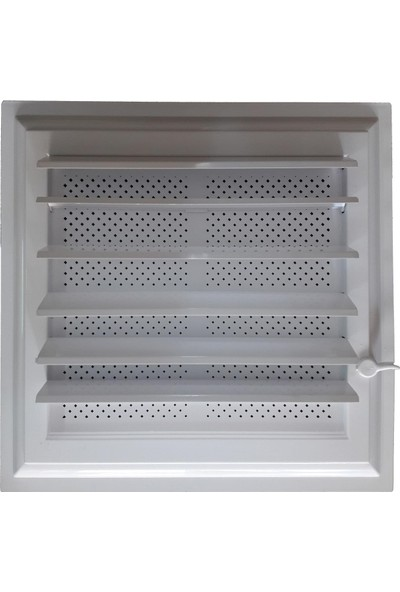Plastik Menfez 30X30 Yapışkan Bantlı Beyaz