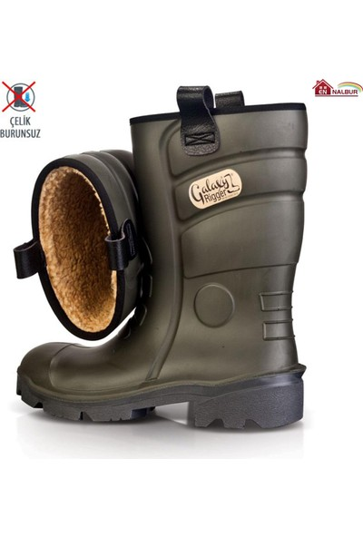 Pollyboot Rigger Çizme Çelik Burunsuz 41 Numara