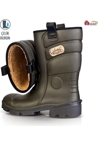 Pollyboot Rigger Çizme Çelik Burunlu 38 Numara