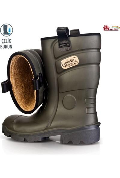 Pollyboot Rigger Çizme Çelik Burunlu 44 Numara