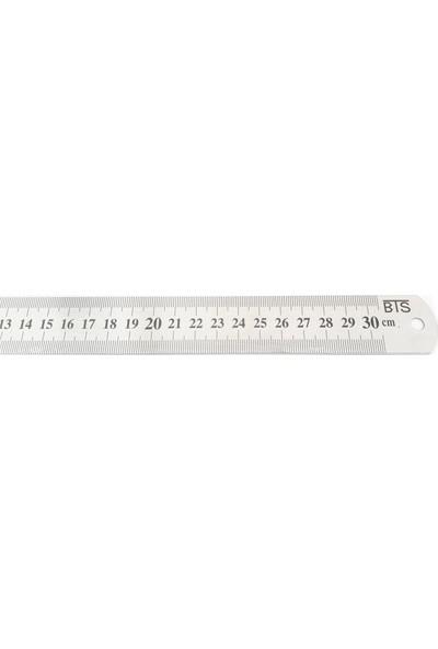 Bts 12259 Çelik Cetvel 50 Cm 30 Mm