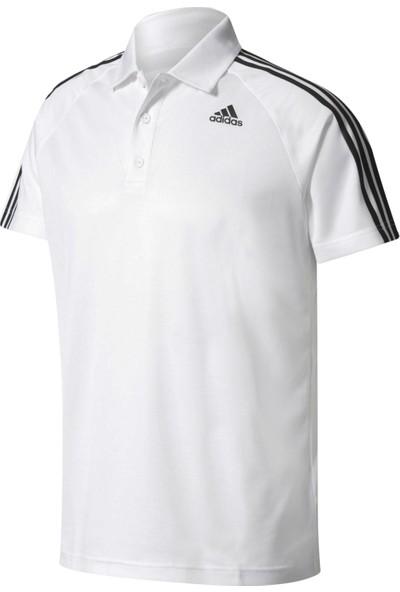 Adidas Bk2602 D2M 3S Polo Erkek Training Polo T-Shirt