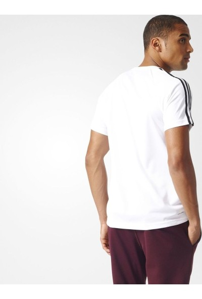 Adidas Bk0971 D2M Tee 3S Erkek Training T-Shirt