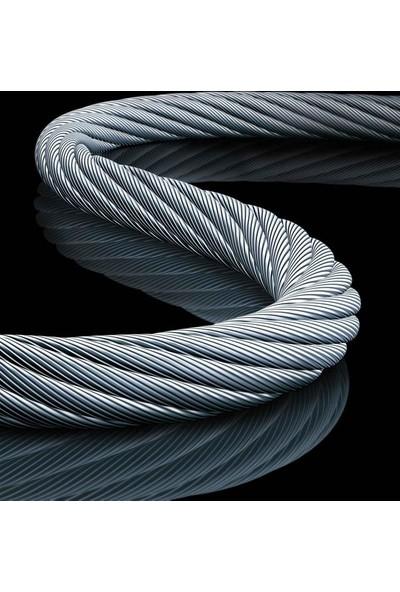 Çelik Halat 6 Mm 1 Metre 6X7