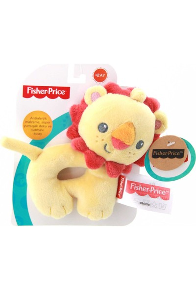 Fisher Price Halka Çıngırak Fil - Köpek - Aslan