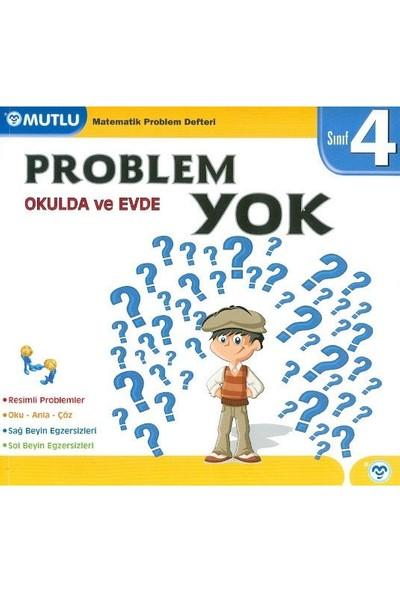 Mutlu Yayınları 4. Sınıf Evde Okulda Problem Yok