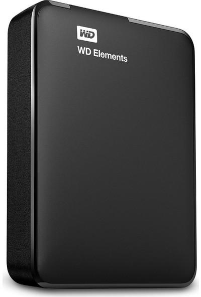 """WD Elements 3TB 2.5"""" USB 3.0 Taşınabilir Disk WDBU6Y0030BBK-WESN"""
