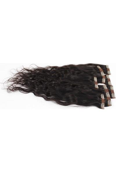 Aytuğ Peruk Doğal Saç 7 Parça Çıtçıt 65-70Cm(150Gram) Doğal Kestane Rengidoğal Boyasız Koyu Kahverengi