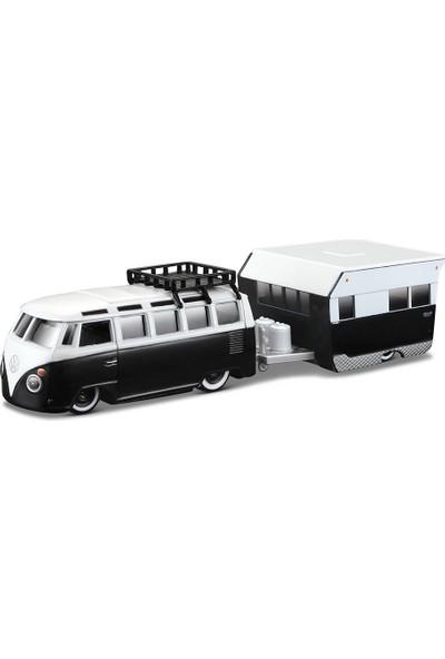 Maisto Volkswagen Van Samba Alameda Trailer1:64 Oyuncak Araba