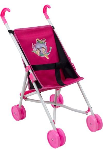 Rival Oyuncak Baston Bebek Arabası Fuşya
