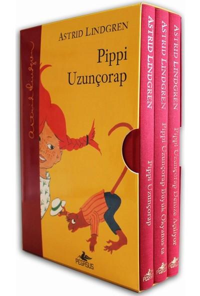 Pippi Uzunçorap Serisi (Kutulu Özel Set Ciltli) - Astrid Lindgren