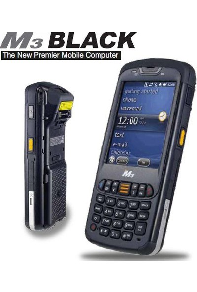 Mobilecomp M3-Black-Wm 3.5 , Renkli Tft Wireless , Bluetooth Windows Mobile 6.5 Wm Kablosuz El Terminali Laser