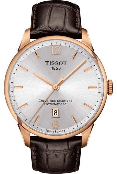 Tissot Tissot Chemin Des Tourelles Automatic Gent T099.407.36.037.00 Erkek Kol Saati