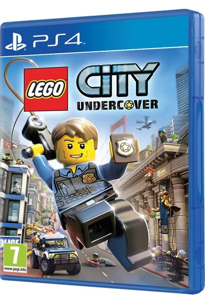 LEGO City Undercover PS4 Oyun