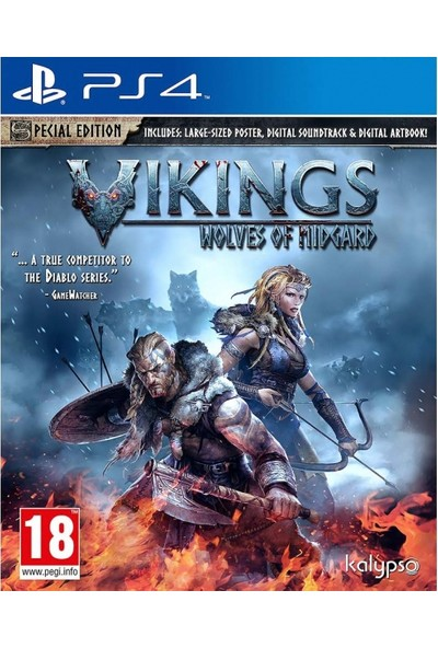 Vikings Wolves Of Midgard Special Edition PS4 Oyun