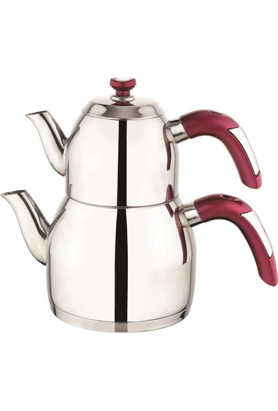 Schafer Soft Çaydanlık (Kırmızı)