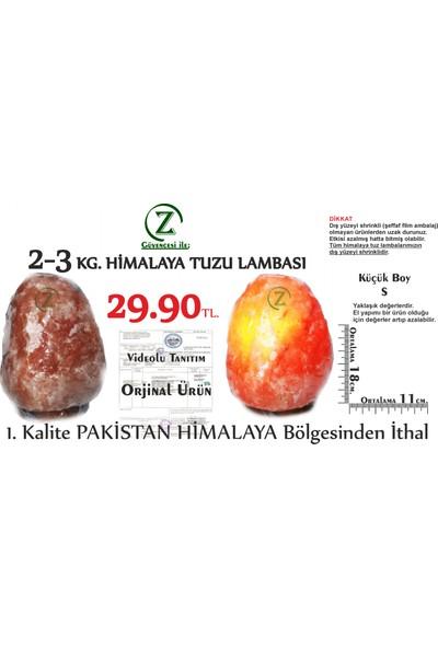 Himalaya İthal Himalaya Tuz Lambası 2-3 Kg.- Himalaya Kaya Tuzu Lambası