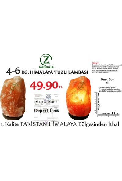 Himalaya İthal Himalaya Tuz Lambası 4-6 Kg.- Kaya Tuzu Lambası