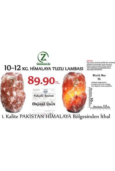 Himalaya İthal Himalaya Tuz Lambası 10-12 Kg.- Himalaya Kaya Tuzu Lambası